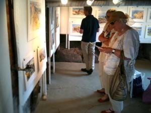 Utställningen i Skärhman lockade besökare från hela Sverige