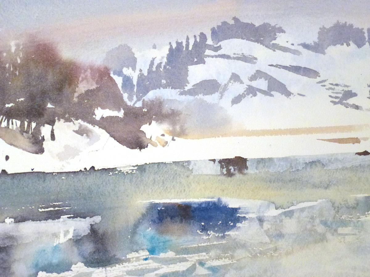 Vintermotiv av Kristian Talvik